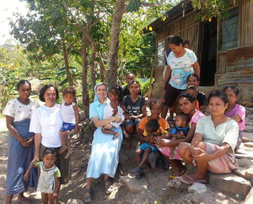 Misja Zgromadzenia Sióstr Klaretynek w Indonezji, fot. nadesłane