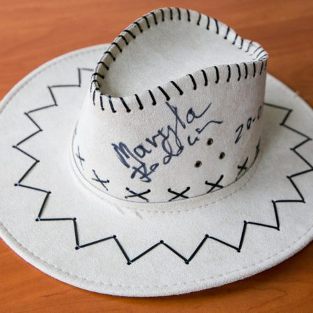 kapelusz od Maryli Rodowicz, fot. Andrzej Goiński