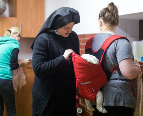 Dom Samotnej Matki w Żołedowie, fot. Filip Kowalkowski dla UMWKP